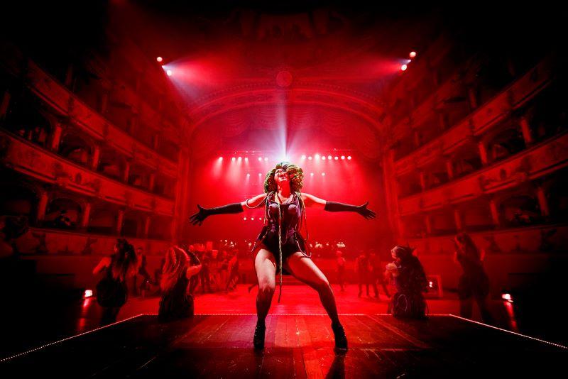 Un momento dello spettacolo di Jekyll&Hyde- BSMT